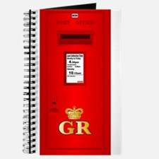 Typical UK Post Box Journal