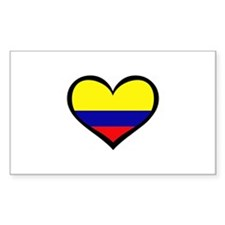 Colombian Love Rectangle Decal