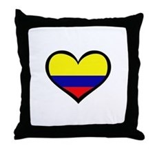 Colombian Love Throw Pillow