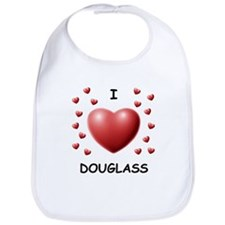I Love Douglass - Bib