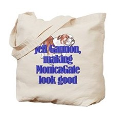 Monicagate looks good Tote Bag