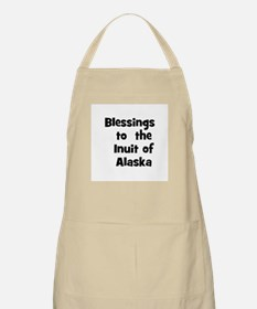 Blessings  to  the  Inuit of  BBQ Apron