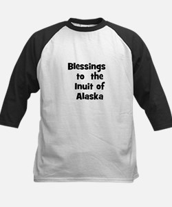Blessings  to  the  Inuit of  Kids Baseball Jersey