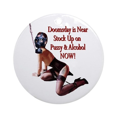 Doomsday is Near Ornament (Round)