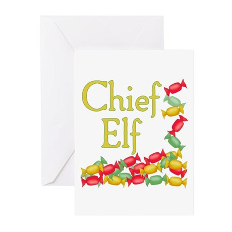 Chief Elf Greeting Cards (Pk of 10)