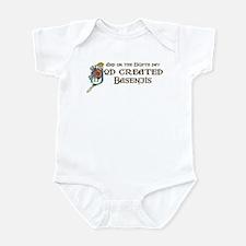 God Created Basenjis Infant Bodysuit