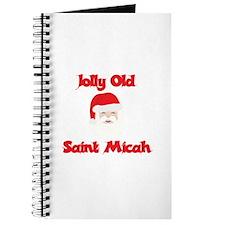Jolly Old Saint Micah Journal