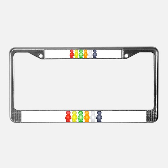Jelly Babies License Plate Frame