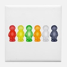 Jelly Babies Tile Coaster