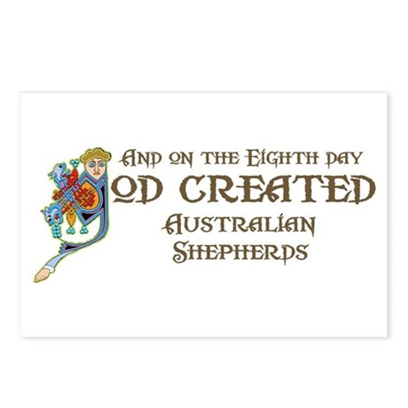 God Created Aussies Postcards (Package of 8)