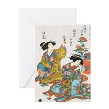Classical Ancient Japanese Se Greeting Card