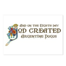 God Created Dogos Postcards (Package of 8)