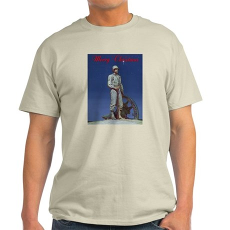 A Soldier Christmas Light T-Shirt