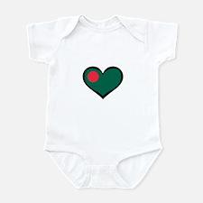 Bangladesh Love Infant Bodysuit