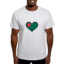 Bangladesh Love T-Shirt