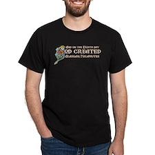 God Created Malamutes T-Shirt