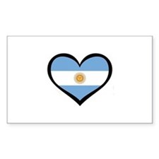 Argentina Love Rectangle Decal