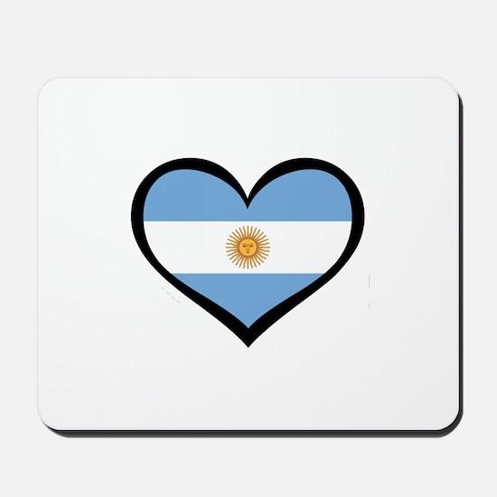 Argentina Love Mousepad
