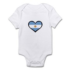 Argentina Love Infant Bodysuit
