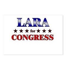 LARA for congress Postcards (Package of 8)