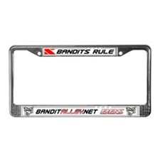Bandit Alley License Plate Frame