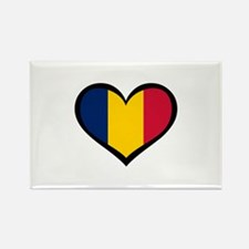 Chad Love Africa Rectangle Magnet