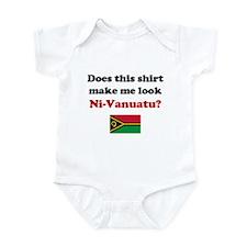 Make Me Look Ni-Vanuatu Infant Bodysuit