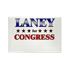LANEY for congress Rectangle Magnet