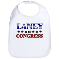 LANEY for congress Bib
