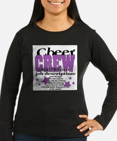 Cheer Crew aka Mom Long Sleeve T-Shirt