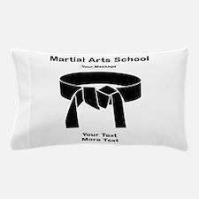 Black Belt Pillow Case