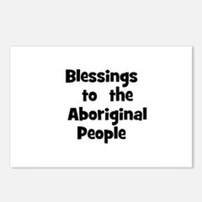 Blessings  to  the  Aborigina Postcards (Package o