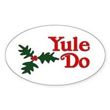 Yule Do Decal