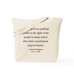 George Washington 5 Tote Bag