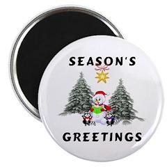 Christmas Greetings Magnet