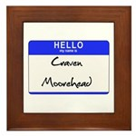 Craven Moorehead Framed Tile