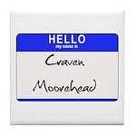 Craven Moorehead Tile Coaster