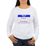 Craven Moorehead Women's Long Sleeve T-Shirt