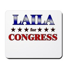 LAILA for congress Mousepad