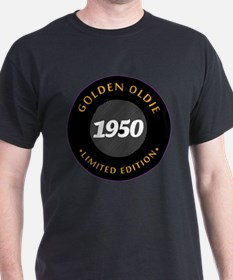 Birthday Born 1950 Classic Edition T-Shirt