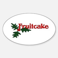 Fruitcake Sticker (Oval)
