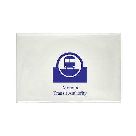 Moronic MTA Rectangle Magnet (100 pack)
