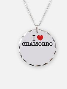 I Love CHAMORRO Necklace