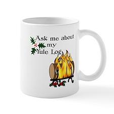 Yule Log Mug