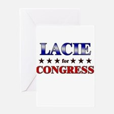 LACIE for congress Greeting Card