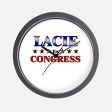 LACIE for congress Wall Clock