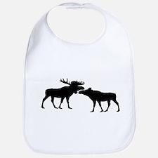 Moose couple Bib