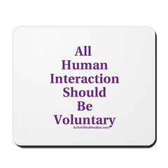 Human Interaction Mousepad