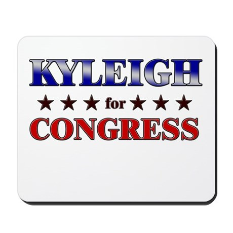 KYLEIGH for congress Mousepad