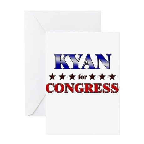 KYAN for congress Greeting Card